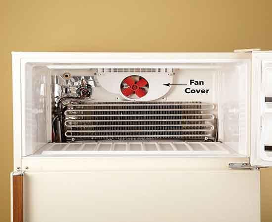 تعویض فن یخچال وستینگهاوس